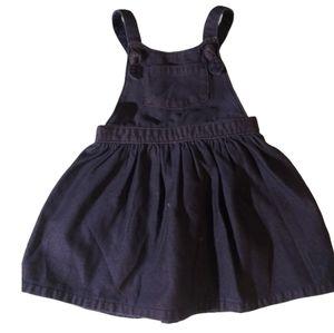 Girls Cat & Jack denim dress cover summer 2T